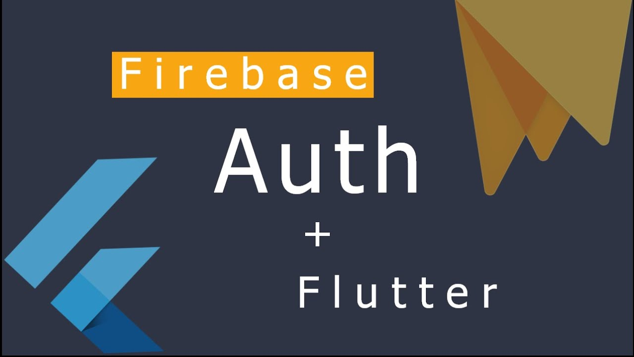 Flutter - Firebase Authentication with Email & Password