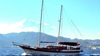 Яхты на Эгейском море(Слайд-шоу: Эгейское море, красивые пейзажи, острова, берега, горы, яхты. «Свободная Стихия» - видео-канал..., 2016-05-15T07:29:48.000Z)