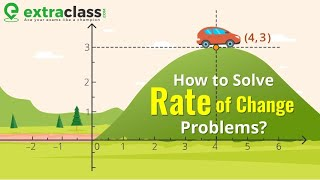 How to solve Rate of change problem | Extraclass.com