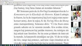 27 | La Sotesana Instruo de Ŭonbulismo | 에스페란토 원불교 대종경 공부 (zoom)