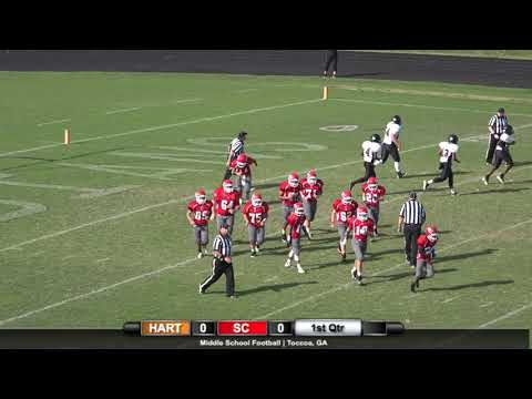 2017 Middle School Football: Hart County at Stephens County (Oct. 4, 2017)