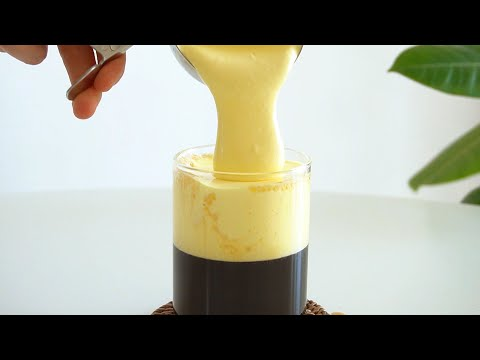 Making Vietnamese Egg Coffee with whipping 400+ times! 😱 from YouTube · Duration:  3 minutes 50 seconds