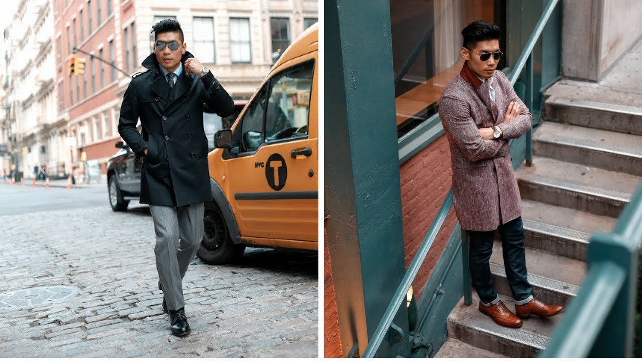 2 Business Casual Looks for Spring   Men's Fashion Lookbook