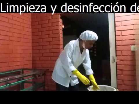 Video proceso de limpieza y desinfecci n en equipos y for Limpieza y desinfeccion de equipos