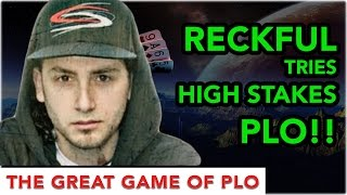 Reckful Plays A $6,000 Pot At Poker || PLOker Hands