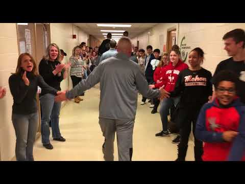 Mohonasen Boys Basketball Send Off Parade