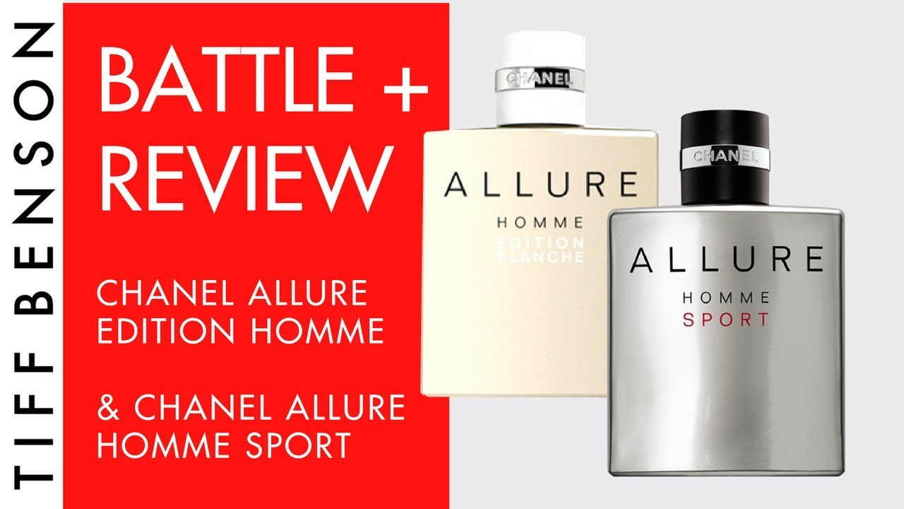 Chanel Allure Homme Sport Review & Chanel Allure Homme Edition Blanche | Men's Fragrance Review ...