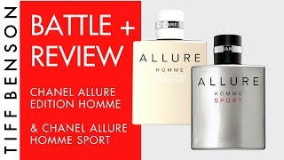 Chanel Allure Homme Sport Review & Chanel Allure Homme Edition Blanche | Men's Fragrance Review