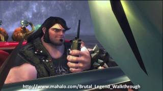 Brutal Legend Walkthrough - Mission 19: Racing the Reaper Part 1