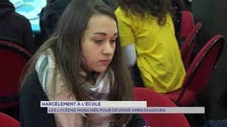 Harcèlement scolaire : journée de sensibilisation auprès des écoliers