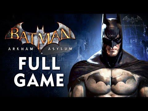 Batman: Arkham Asylum - Full Game Walkthrough In 4K [Xbox One X Enhanced]