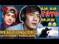 AJA AJA TAYO SA JEJU REACTION VIDEO with DONNY PANGILINAN | Robi Domingo
