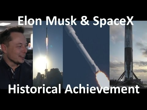 SpaceX Successful World's First Rocket Reflight & Landing Falcon 9 - SES 10 Mission (2017-03-30)
