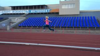 Тренировка по легкой атлетике. Сиб.нефтяник. Прыжковая