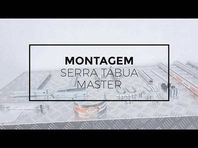 152 - Montagem da Serra Tábua Master Meghi para motosserras