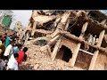 গুড়িয়ে দেয়া হলো অবৈধ বহুতল ভবন  Live Building Breakdown at Buriganga River-side