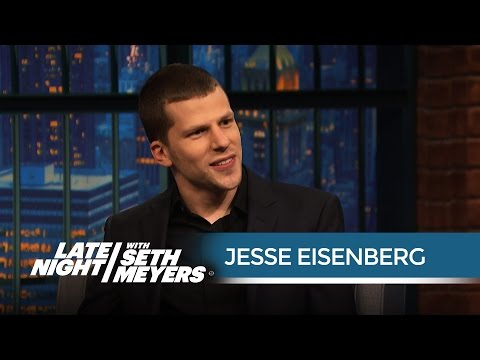 Jesse Eisenberg on Playing Lex Luthor in Batman v. Superman: Dawn of Justice
