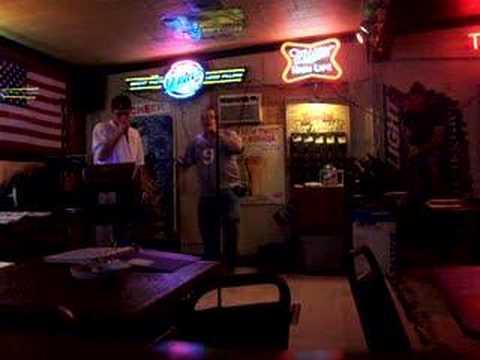 Karaoke fun with the KJ
