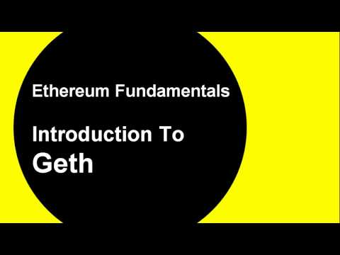 Intro To Geth: Create Your Private Ethereum Blockchain - In 5 Mins