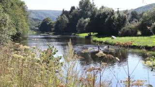 Canoë sur la Semoy - Ardennes - France