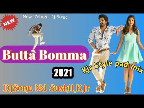 butta-bomma-new-telugu-dj-song-2021  saraswati-puja-special  kjr-style-mix  djssr,kjr