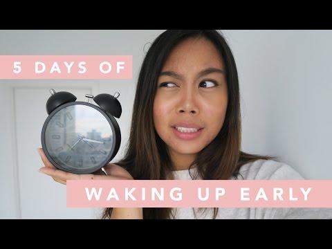 5 Days of Waking Up Early | Danica Antonio