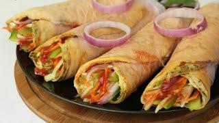 পরোটা ছাড়াই তৈরি করুন এগ রোল/এগ রোল রেসিপি/রোল রেসিপি/Kolkata Egg Roll Recipe/Indian Street food.