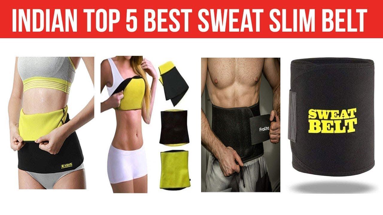 3dd09527aa Indian Top 5 Best Sweat Slim Belt - YouTube