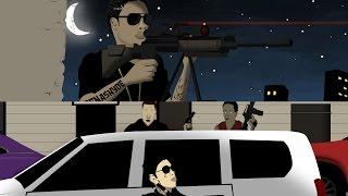 Vybz Kartel & Masicka Infrared Mission [Jamaican Cartoon]