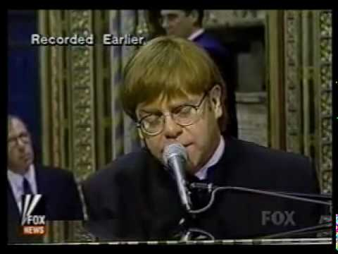 Elton John - Candle in the Wind (Lady Diana's funeral)