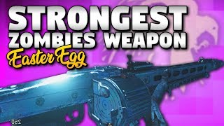 The Most POWERFUL WEAPON in WW2 ZOMBIES (MG42 Vintage EASTER EGG The Frozen Dawn) Turorial / Guide