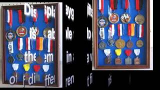 Medal Display Case Shadow Box From Displaygifts.com