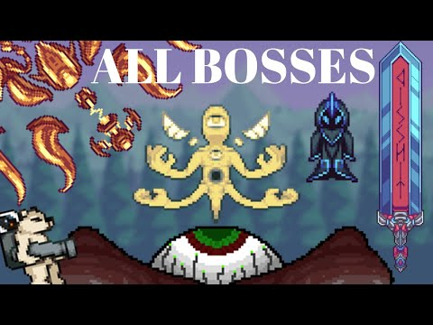 Terraria: Qwerty's Mod ALL BOSSES