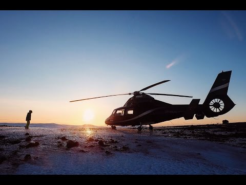 ICELAND VLOG: HELICOPTER RIDE OVER REYKJAVIK