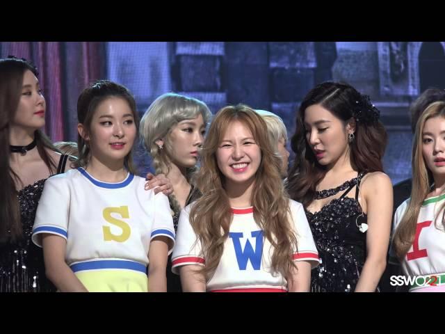 151231 레드벨벳(Red Velvet) 웬디 직캠 엔딩2 - MBC가요대제전[Fancam/Wendy]
