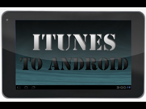 how to download itunes on android