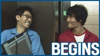 [RUNNINGMAN BEGINS] [EP 10-2]   SUPER Thrilling moment with JongKook!!!!!!  (ENG SUB)