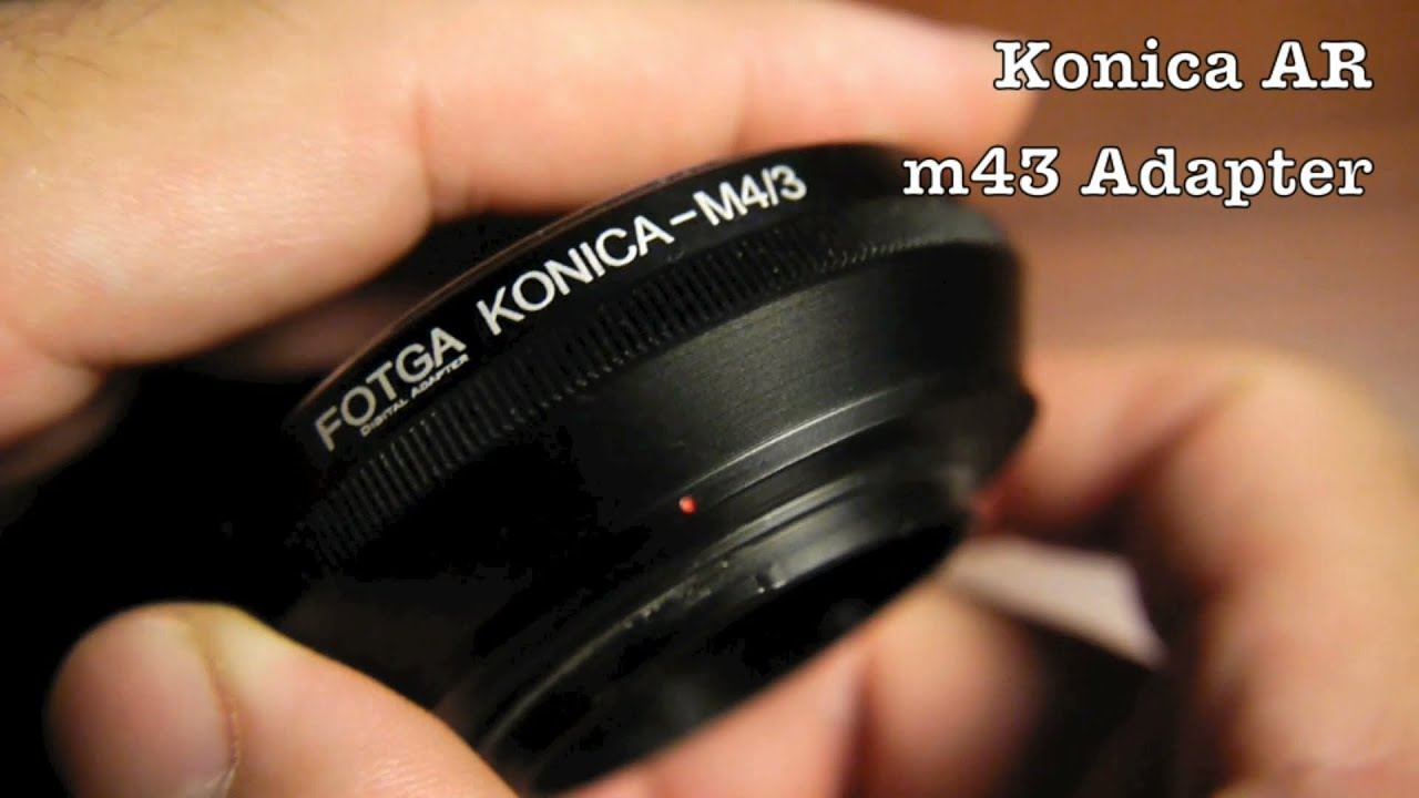 Olympus Pen and Panasonic Lumix Cameras KECAY Lens Mount Adapter for Konica AR Lens to Micro 4//3 Four Thirds M43 MFT System Camera Konica to M43 AR-M43