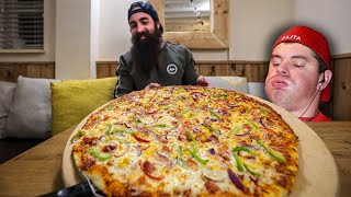 ANOTHER HUGE PIZZA CHALLENGE | PAYBACK FOR RANDY ;) | The Midlands MiniSeries Pt.2