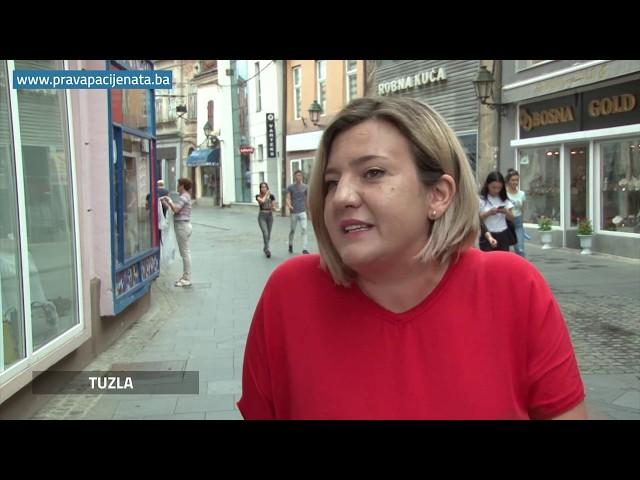 Anketa u Tuzli: Jeste li se nekad našli u situaciji da ste bili nezadovoljni zdravstvenom uslugom?