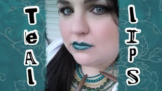 Teal Lips: Trending Tuesday