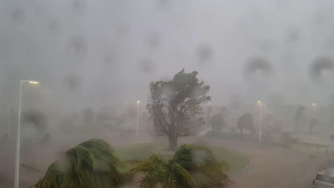 Eye Of Hurricane Irma As It Passes Over Bonita Springs - Estero FL