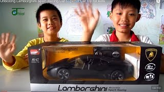 Unboxing Lamborghini Sport Racing Car Superior Car toy for kids