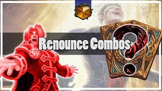 Hearthstone: Renounce Darkness Combos
