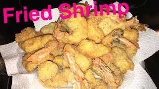 How to Make: Fried Shrimp