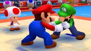 Mario & Sonic at the London 2012 Olympic Games (3DS) - All Heroes Events