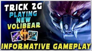 Trick2g - NEW VOLI BROKEN? | New volibear gameplay | trick 2g volibear