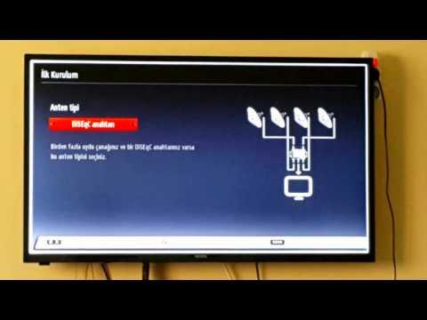 Vestel smart led tv kanal ayarı