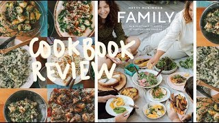 making & reviewing 8 recipes from ✨ 'FAMILY: NEW VEGETABLE CLASSICS TO COMFORT & NOURISH'