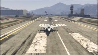 GTA V PC Jet Attack